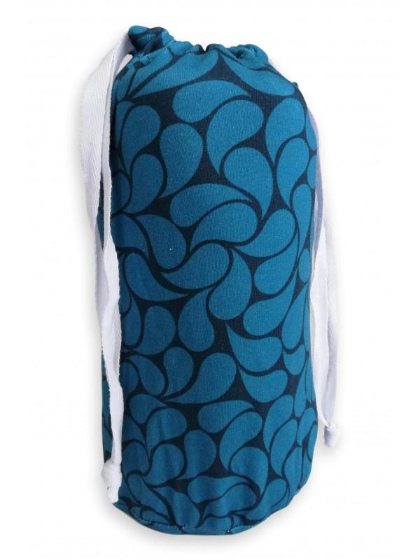 Еластичен слинг OmniaBaby - Blue Petals